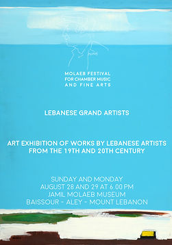 Jamil Molaeb Museum - Lebanese Grand Artists - Art Exhibition