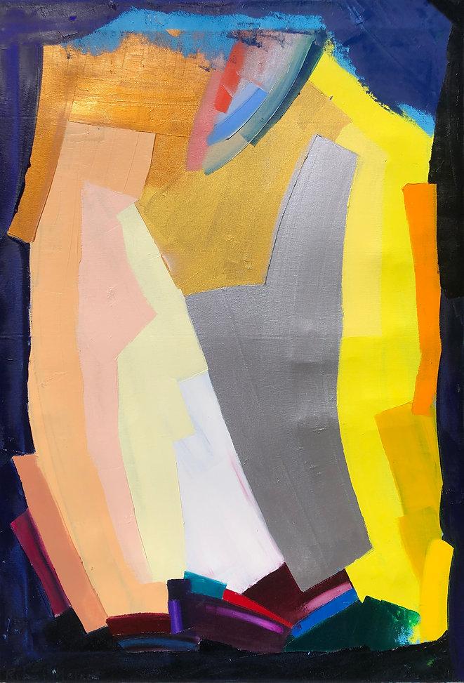 Ribal Molaeb 100x70cm - oil on canvas