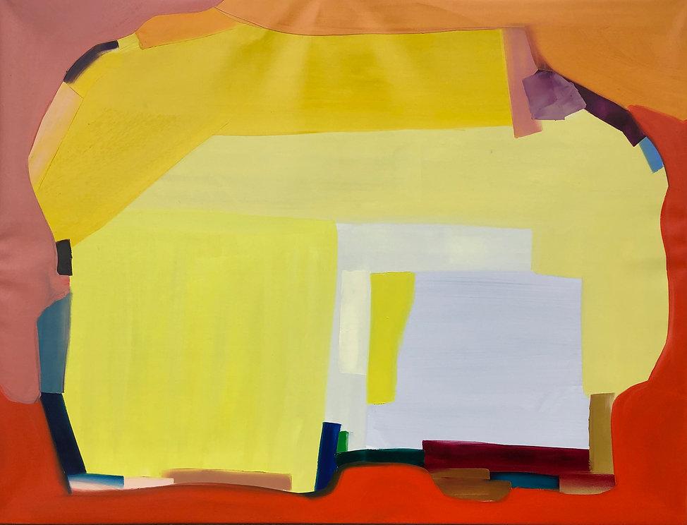 Ribal Molaeb 110x145 cm - oil on canvas