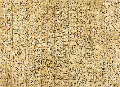 Jamil Molaeb 105x145 cm