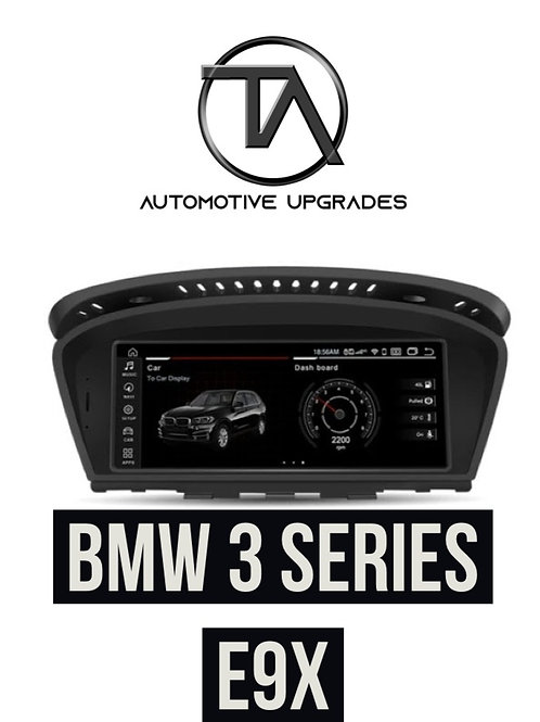 """BMW E60 - E90 8.8"""" Full HD Android Multimedia System - Andro"""