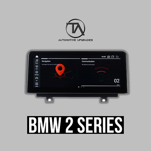 "BMW 2 Series CARBON Display (10.25"" / 8.8"")"