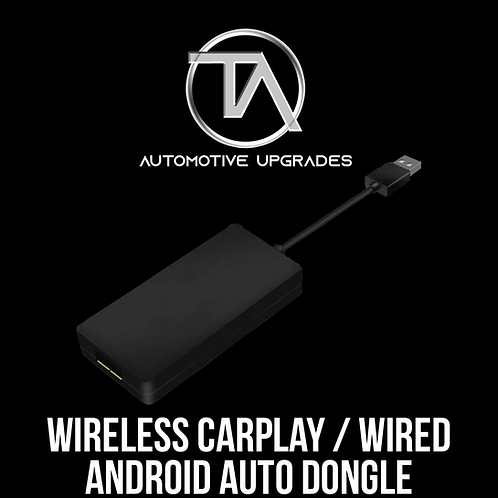 Wireless CarPlay / Wired Android Auto Dongle