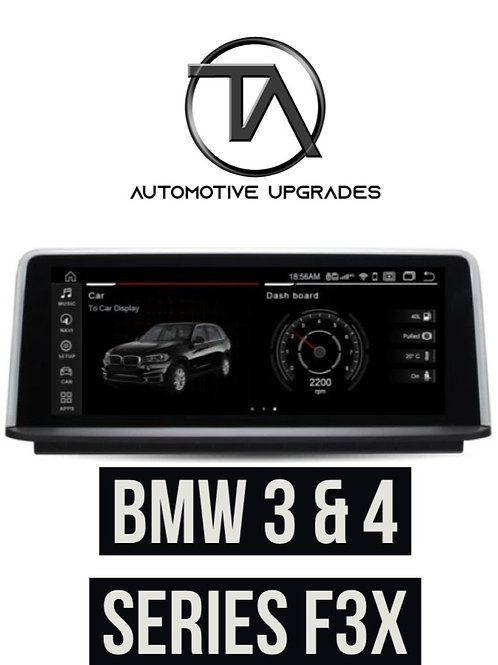 "BMW 3 Series / 4 Series 10.25"" Full HD Android Multimedia System - Android 10"