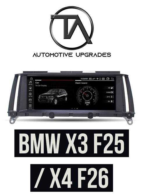 """BMW X3 & X4 10.25"""" Full HD Android Multimedia System - Andro"""