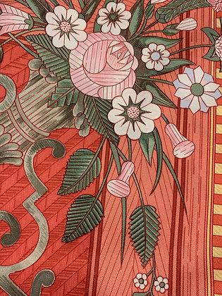Hermes 1980's Silk Scarf
