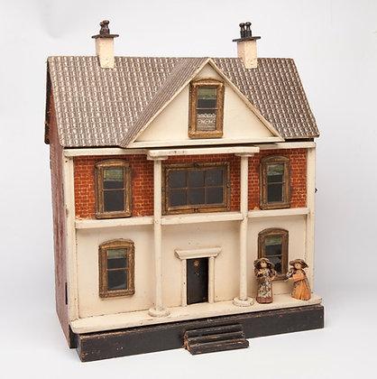 CHARMING VINTAGE DOLLS HOUSE