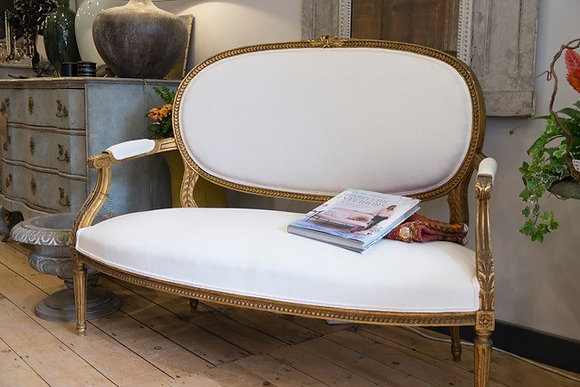 Stunning Giltwood French Canape Sofa