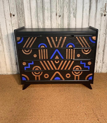 UPCYCLED  1950s FRENCH CHEST OF DRAWERS