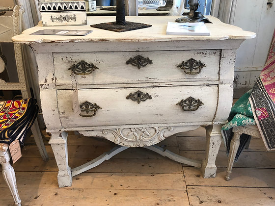 Oak Flemish Commode