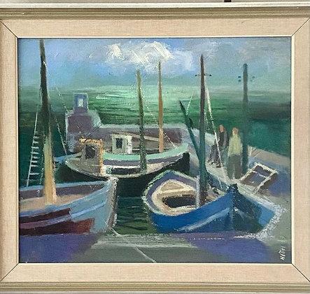 1949 OIL PAINTING by Ejnar Nettlebladt