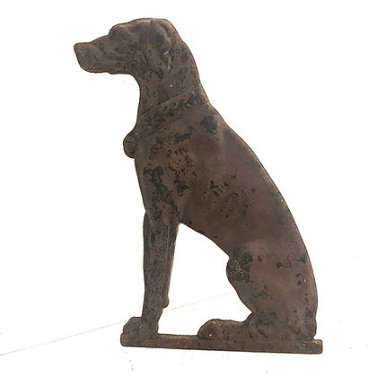 VINTAGE CAST IRON DOG
