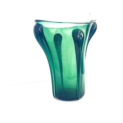 ART NOUVEAU STUDIO GLASS VASE