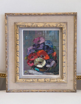 Anemones by Elie Berndel (1919 - 1999)