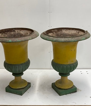 CAST IRON URNS FOR INDOOR USE
