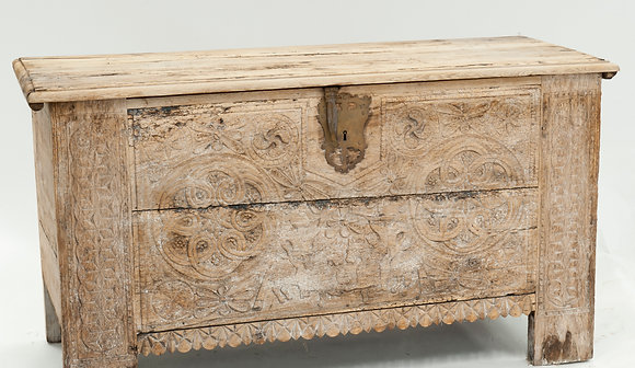 18th century bleached coffer
