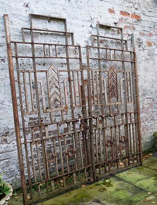 GATES WITH CHEVRON