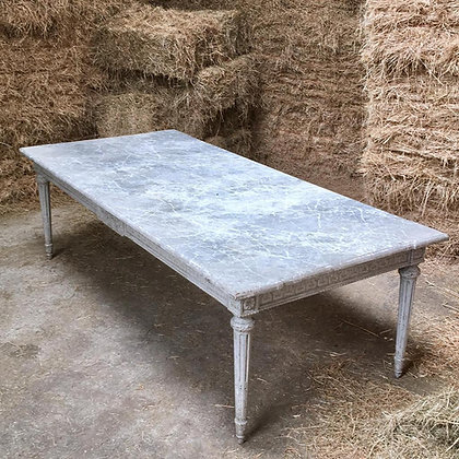 French Decorative Dining Table