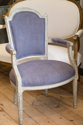 French Chair - newly upholstered