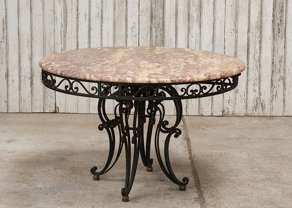 c1930s Marble Top Centre Table