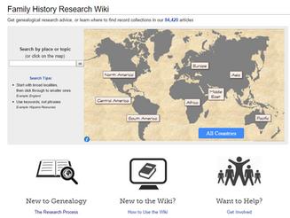 FamilySearch Research Wiki! Gotta Love it!