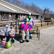 Easter Raffle Station