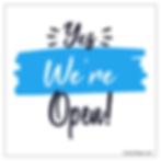 We're open.png