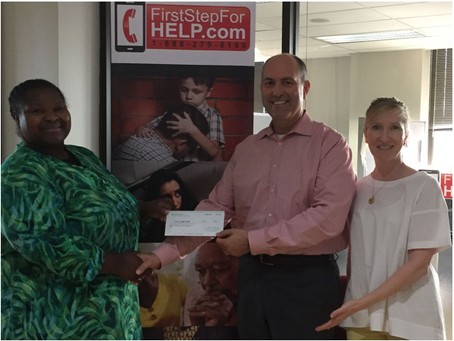 Grant Awarded for First Step For HELP Program