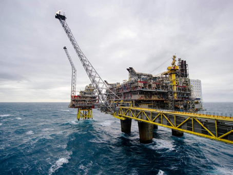 Дания намерена прекратить добычу углеводородов на шельфе Северного моря к 2050 г.