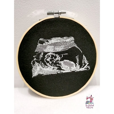 Ultrasound Embroidery Hoops