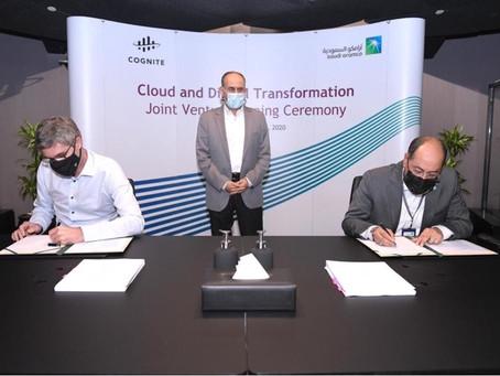 Saudi Aramco и Cognite создадут предприятие по разработке цифровых технологий для нефтегаза