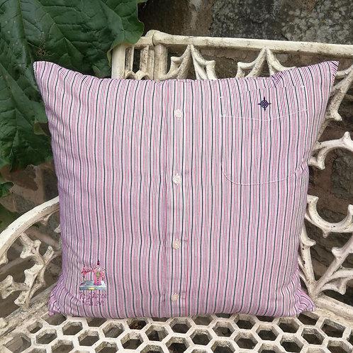 Shirt/Cardigan Cushion Without Neckline