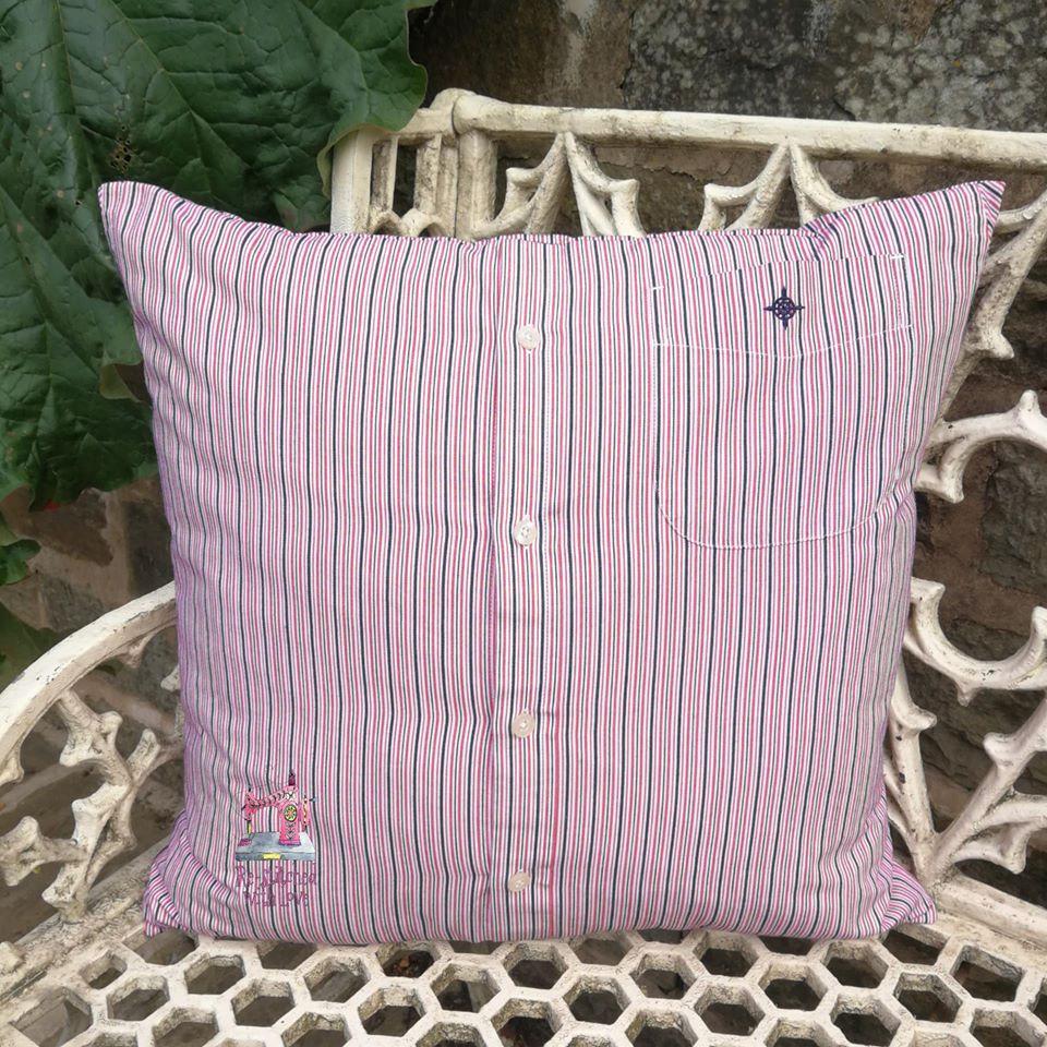 Shirt/Cardigan Cushion (No Neckline)