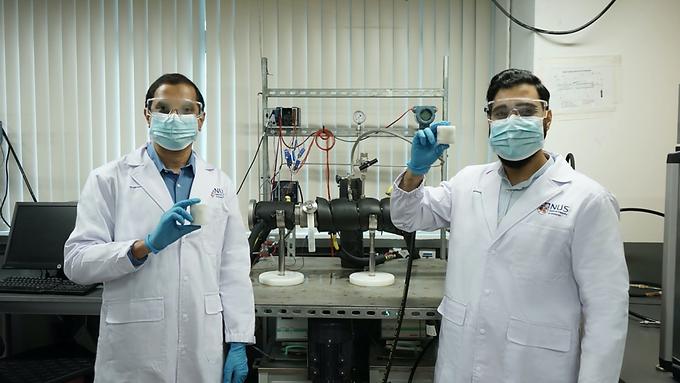 В Сингапуре разработали новый метод превращения природного газа в лед