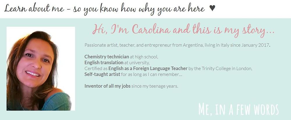 Carolina Ghelfi BujoScrap - My story