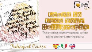Aprende a Amar tu Caligrafía (el curso que necesitás antes de tomar otro curso de Lettering)