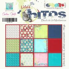 MILA7 - Pack de láminas 6x6 (15,2cm) LINEA HITOS