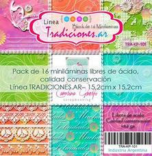 MILA2 - Pack de láminas 6x6 (15,2cm) LINEA TRADICIONES