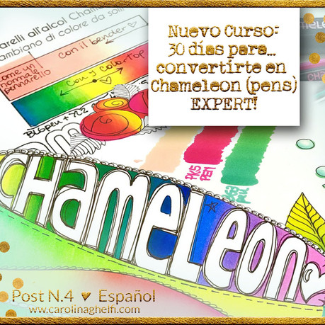 Nuevo Curso Online: 30 días para... Convertirte en un Experto en Chameleon pens!