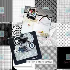 LAM 6 - Pack de láminas 12x12 (30,5cm) LINEA ETERNAMENTE