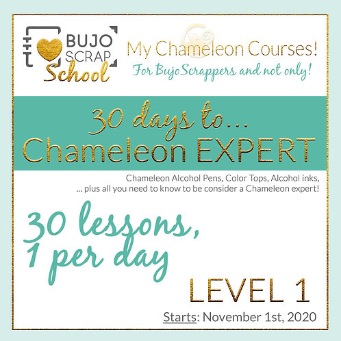 "Online Course: ""30 days to... Chameleon EXPERT!"" -Level 1 (Eng/Ita/Esp)"