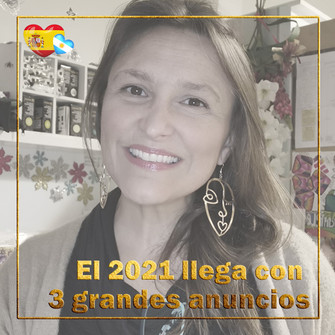 V-log 2021 # 1 BujoScrap en Español - ¡3 anuncios importantes!