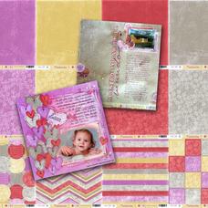 LAM 5 - Pack de láminas 12x12 (30,5cm) LINEA TENDENCIAS