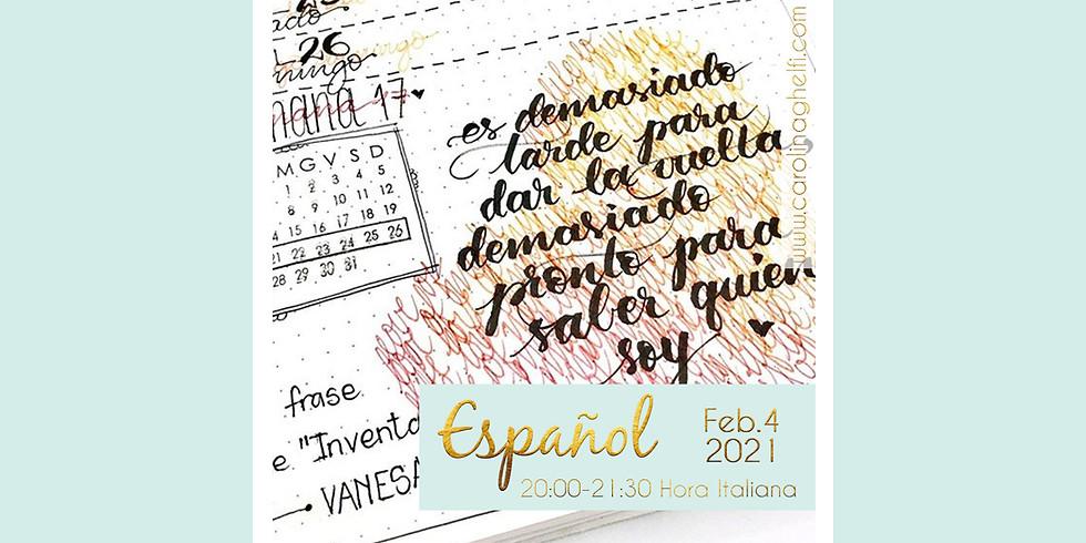 LETTERING Aprende a amar tu caligrafía (ESPAÑOL)
