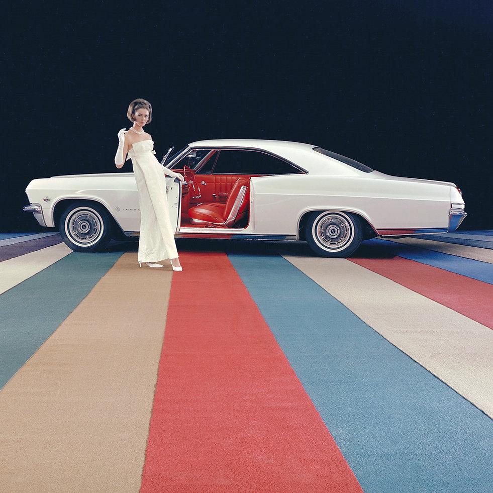 woman chevrolet impala car design america paolo tumminelli