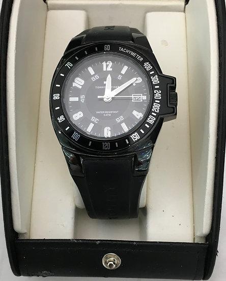Tommy Hilfiger  Silicone Black Watch