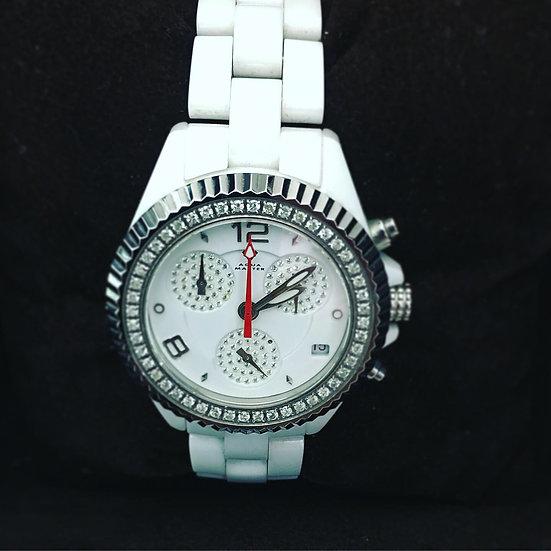 Aqua Master Diamond Chronograph Watch