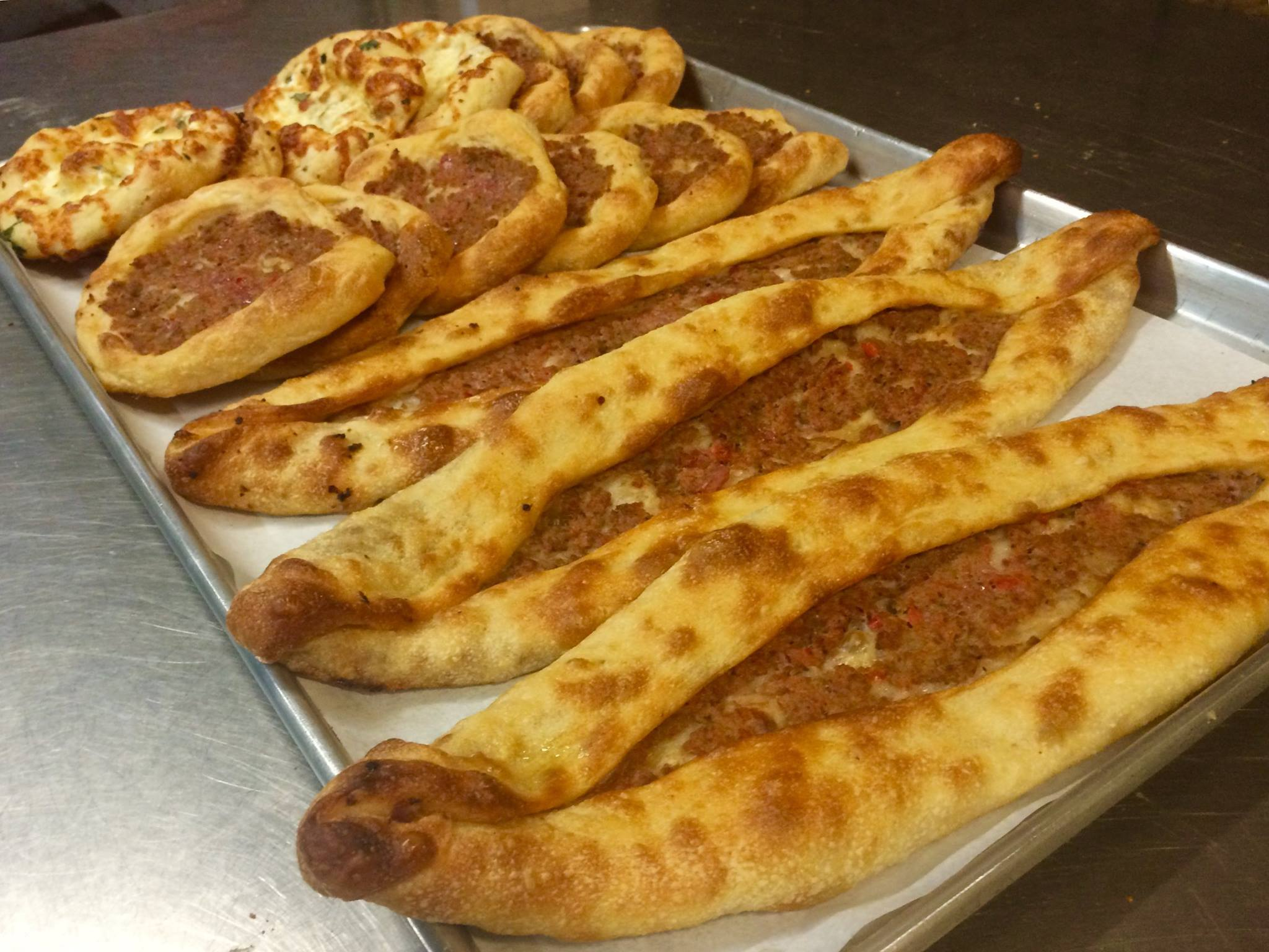 MEAT & CHEESE PIDE