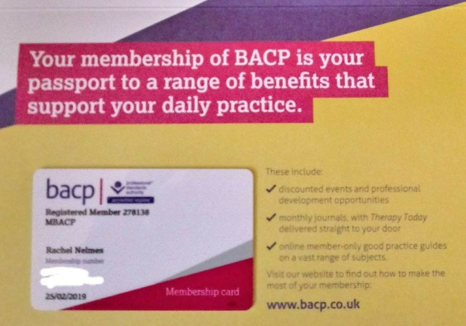BACP membership...what does that mean for you?