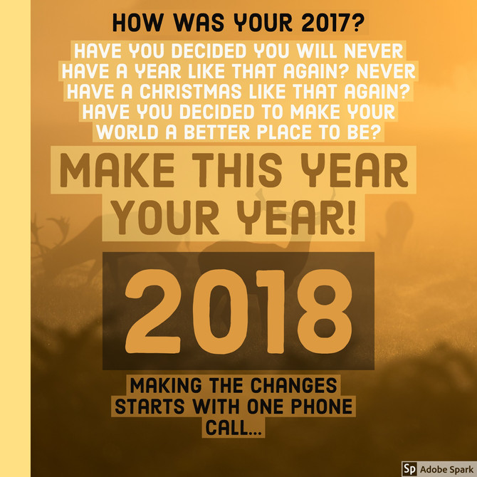 Make this year YOUR year!